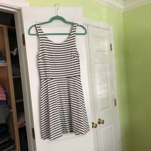 Striped Summer A-line dress